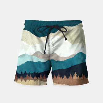 Thumbnail image of Fall Forest Night Swim Shorts, Live Heroes