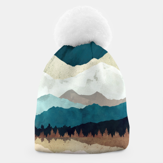 Thumbnail image of Fall Forest Night Beanie, Live Heroes