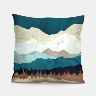 Thumbnail image of Fall Forest Night Pillow, Live Heroes