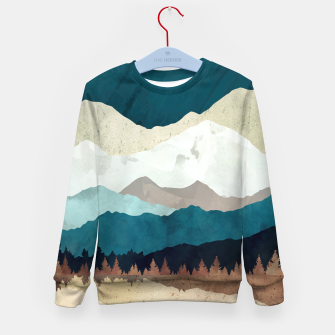 Thumbnail image of Fall Forest Night Kid's sweater, Live Heroes