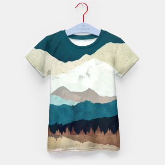 Thumbnail image of Fall Forest Night Kid's t-shirt, Live Heroes