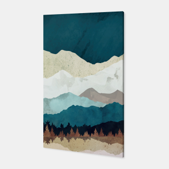 Thumbnail image of Fall Forest Night Canvas, Live Heroes