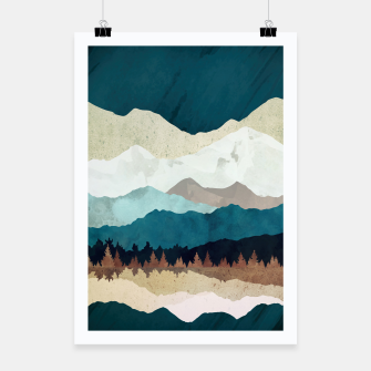 Thumbnail image of Fall Forest Night Poster, Live Heroes