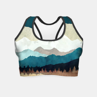 Thumbnail image of Fall Forest Night Crop Top, Live Heroes