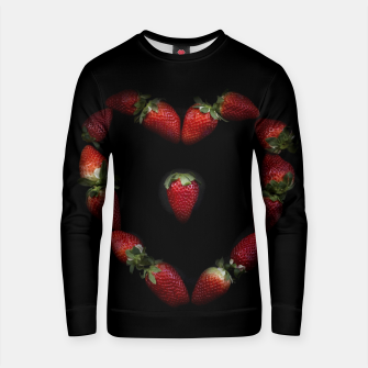 Thumbnail image of Heart of strawberries Cotton sweater, Live Heroes