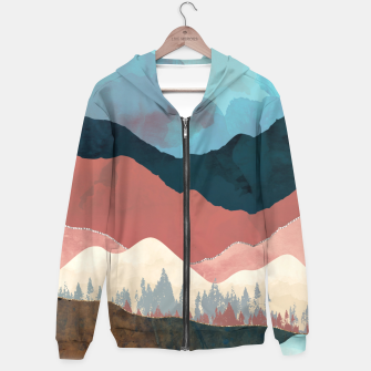 Thumbnail image of Fall Transition Cotton zip up hoodie, Live Heroes