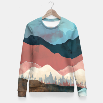 Thumbnail image of Fall Transition Woman cotton sweater, Live Heroes