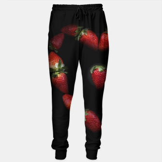 Thumbnail image of Heart of strawberries Cotton sweatpants, Live Heroes