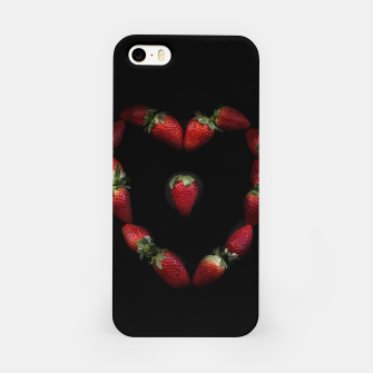 Thumbnail image of Heart of strawberries iPhone Case, Live Heroes