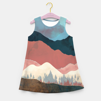 Thumbnail image of Fall Transition Girl's summer dress, Live Heroes