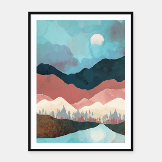 Thumbnail image of Fall Transition Framed poster, Live Heroes