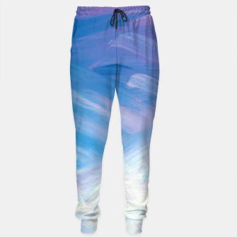 Thumbnail image of Clouds and Sky Cotton sweatpants, Live Heroes