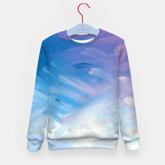 Thumbnail image of Clouds and Sky Kid's sweater, Live Heroes