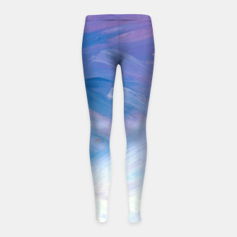 Thumbnail image of Clouds and Sky Girl's leggings, Live Heroes