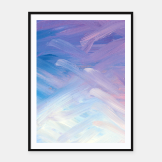 Thumbnail image of Clouds and Sky Framed poster, Live Heroes
