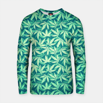 Thumbnail image of Cannabis / Hemp / 420 / Marijuana  - Pattern Cotton sweater, Live Heroes