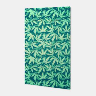 Cannabis / Hemp / 420 / Marijuana  - Pattern Canvas miniature