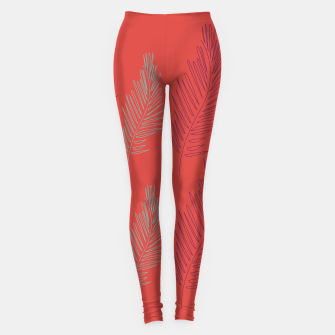 Thumbnail image of Leggings ethnic Palms, deluxe, Live Heroes