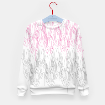 Thumbnail image of Kid's sweater   SEAWEEDS PINK WHITE, Live Heroes