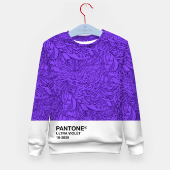 Thumbnail image of Pantone Ultra Violet Kid's sweater, Live Heroes