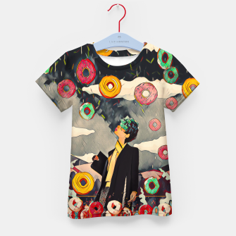 Thumbnail image of Donuts Kid's t-shirt, Live Heroes