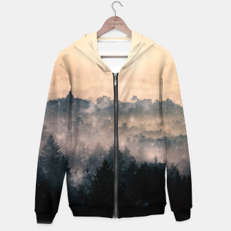 Thumbnail image of Sunshine Forests Zip up hoodie, Live Heroes