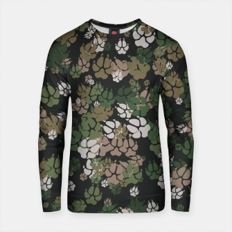 Thumbnail image of Canine Camo WOODLAND Cotton sweater, Live Heroes