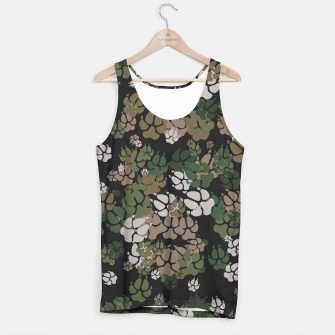 Thumbnail image of Canine Camo WOODLAND Tank Top, Live Heroes