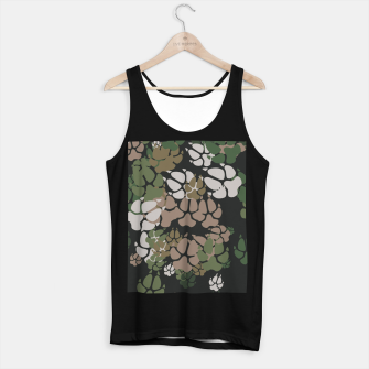 Thumbnail image of Canine Camo WOODLAND Tank Top regular, Live Heroes