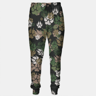 Thumbnail image of Canine Camo WOODLAND Cotton sweatpants, Live Heroes