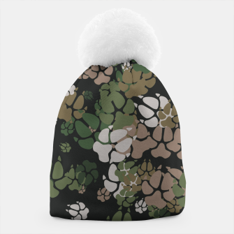 Thumbnail image of Canine Camo WOODLAND Beanie, Live Heroes