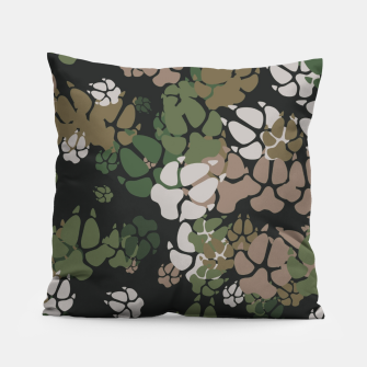 Thumbnail image of Canine Camo WOODLAND Pillow, Live Heroes