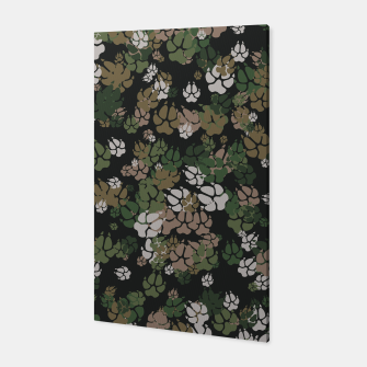 Thumbnail image of Canine Camo WOODLAND Canvas, Live Heroes