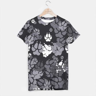 Thumbnail image of Canine Camo URBAN T-shirt, Live Heroes