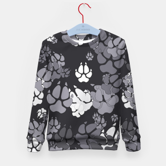 Thumbnail image of Canine Camo URBAN Kid's sweater, Live Heroes