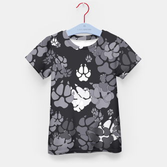 Thumbnail image of Canine Camo URBAN Kid's t-shirt, Live Heroes