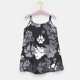 Thumbnail image of Canine Camo URBAN Girl's dress, Live Heroes