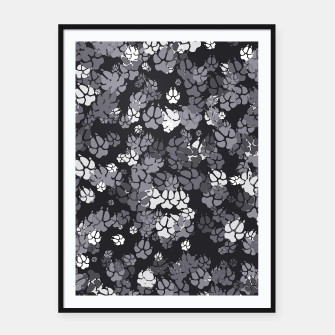 Thumbnail image of Canine Camo URBAN Framed poster, Live Heroes