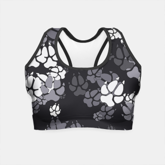 Thumbnail image of Canine Camo URBAN Crop Top, Live Heroes