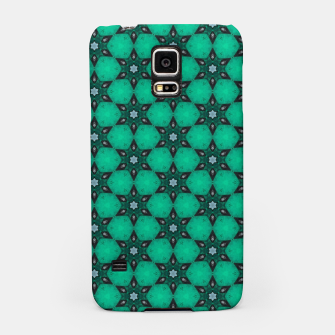 Thumbnail image of Arabesque Turquoise Stars Samsung Case, Live Heroes