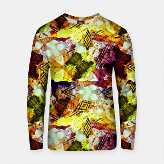 Graffiti Style - Markings on Colors Cotton sweater thumbnail image
