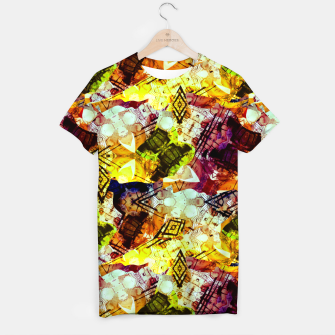 Graffiti Style - Markings on Colors T-shirt thumbnail image