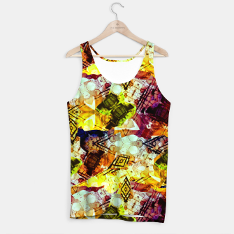 Graffiti Style - Markings on Colors Tank Top thumbnail image