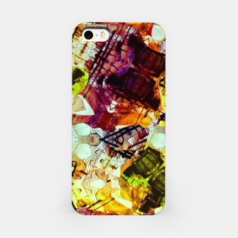 Graffiti Style - Markings on Colors iPhone Case thumbnail image