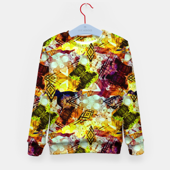 Graffiti Style - Markings on Colors Kid's sweater thumbnail image