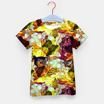 Graffiti Style - Markings on Colors Kid's t-shirt thumbnail image