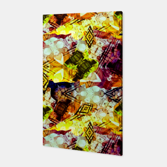 Graffiti Style - Markings on Colors Canvas thumbnail image