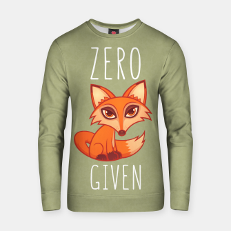 Thumbnail image of Zero Fox Given Cotton sweater, Live Heroes