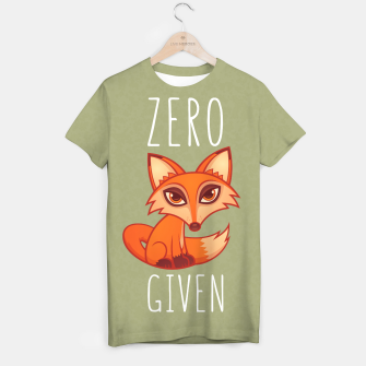 Thumbnail image of Zero Fox Given T-shirt, Live Heroes