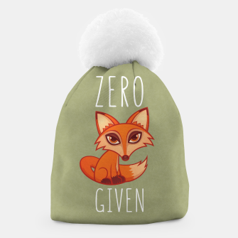 Thumbnail image of Zero Fox Given Beanie, Live Heroes